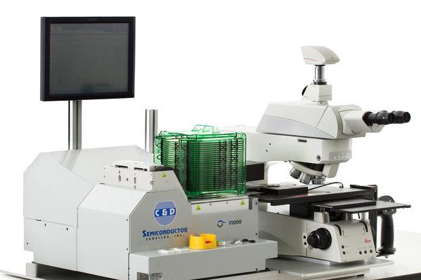 V1000 Microscope Wafer Loader