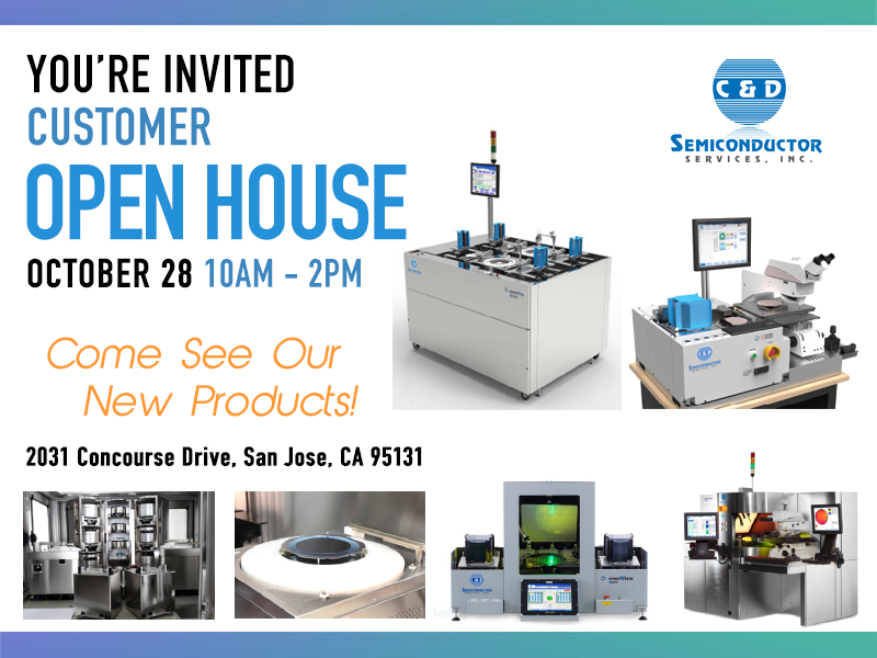 Open House October 28th, 2016 from 10AM-2PM W/Complimentary Lunch and Drinks